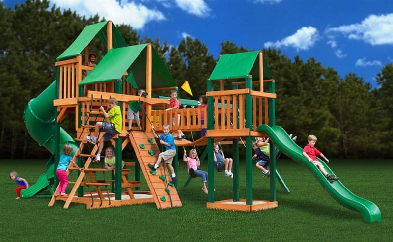 Outdoor Playset A Great Way To Keep Your Children Healthy