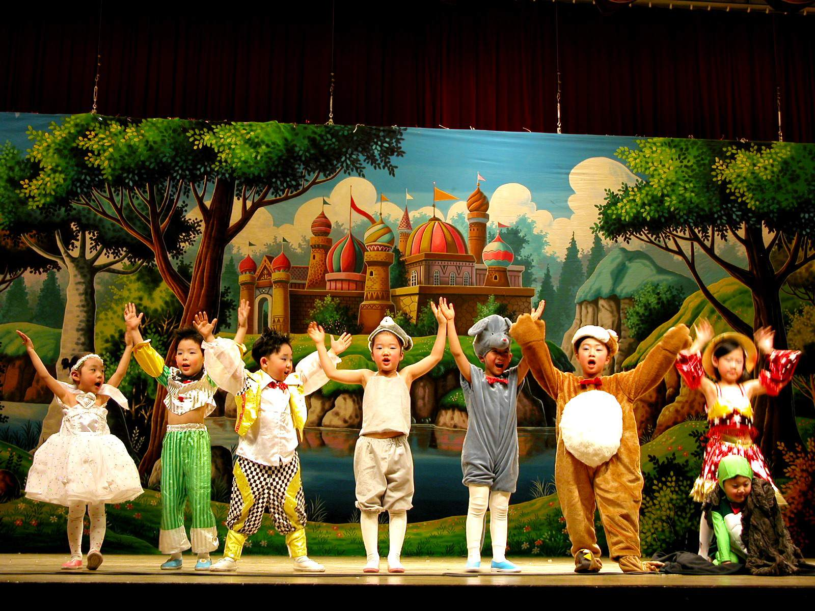Musical Theater Performance of Aladdin