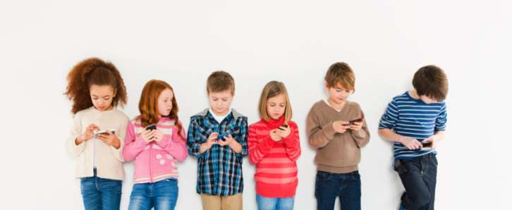 An age-by-age guide to kids and smartphones