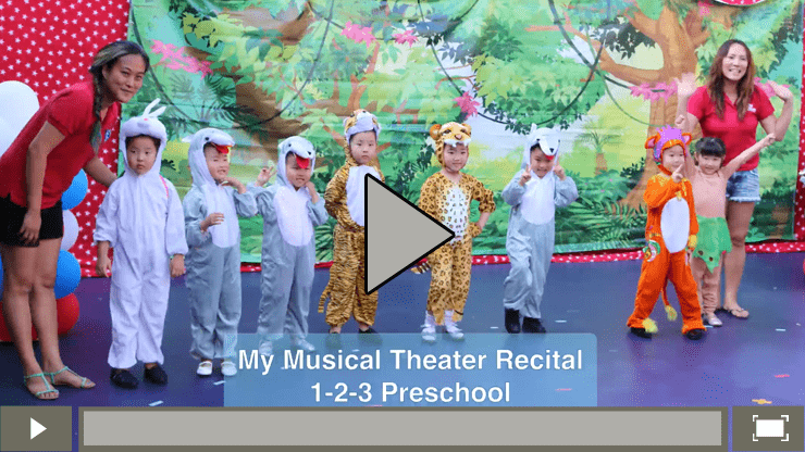1-2-3 Preschool Jungle Book Recital 2016-06-24 Video box-2